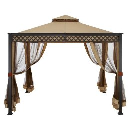 """replacement patio garden gazebo canopy top 10 x 10"" Garden"