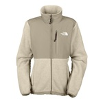 Womens The North Face Denali Jacket - Dune Beige Heather