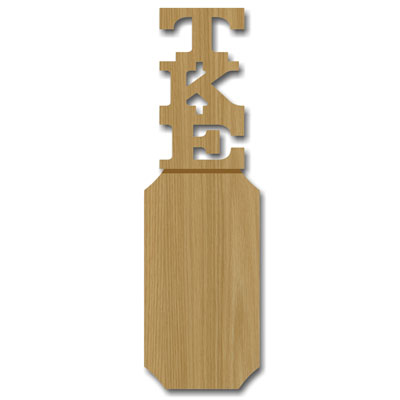greek paddle template - fraternity amp sorority paddles