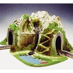 Noch HO Scale Single Track Curved Train Tunnel