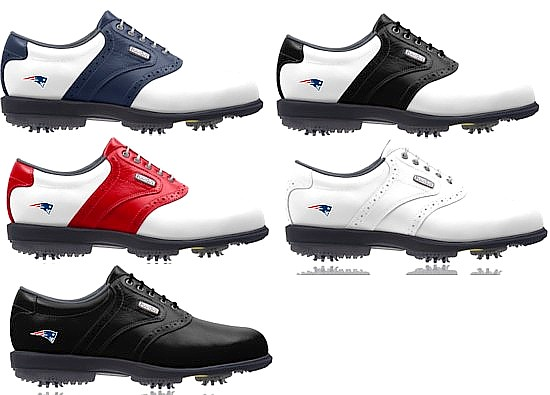 New England Patriots FOOTJOY Golf Shoes DRYJOYS PODS