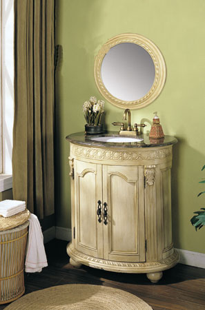 antique white bathroom vanities types and options