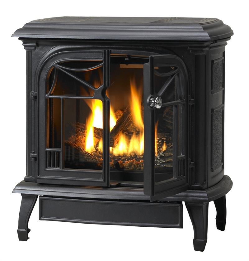 CAST IRON GAS FIREPLACE – Fireplaces