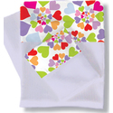 Room Magic Twin Sheets/Pillowcase Set, Heart Throb - RM04HT