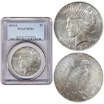 1924 S PEACE DOLLAR ICG MS64