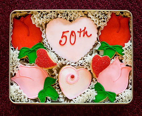 Make your 50th wedding anniversary special with these delightfully hand