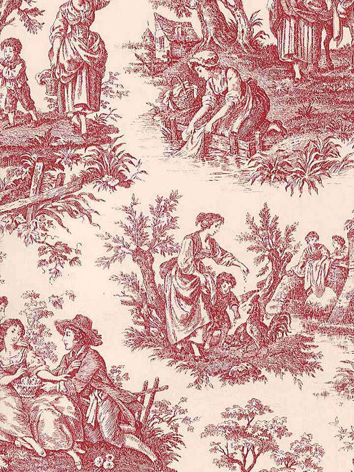 waverly wallpaper toile