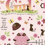 Child's Play with Kate by Sheri Berry REMNANT (31 1/2X44)