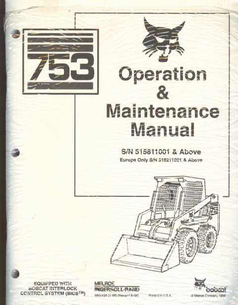 Bobcat S250 Parts Diagram