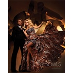 TONY BOWLS 2011 EVENING COLLECTION DRESS TBE11153