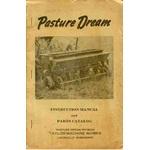 Taylor Machine Pasture Dream Seeder drill ops parts