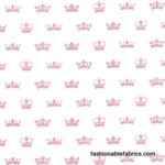Send in the Crowns Princess by Michael Miller Fabrics
