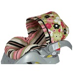 Retro Baby Blossom - Infant Car Seat Covers