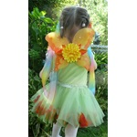 Fall Fairy Leaf Tulle Skirt Set - Medium and Small