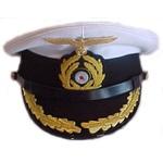 WWII German Navy Uniforms: U-boat Captain's Dress Hat, reproduction, #227