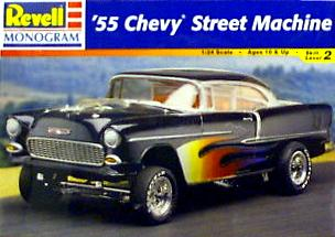 1 24 scale  the 55 chevy