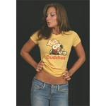 Peanuts Buddies Vintage Girly T-Shirt by Mighty Fine