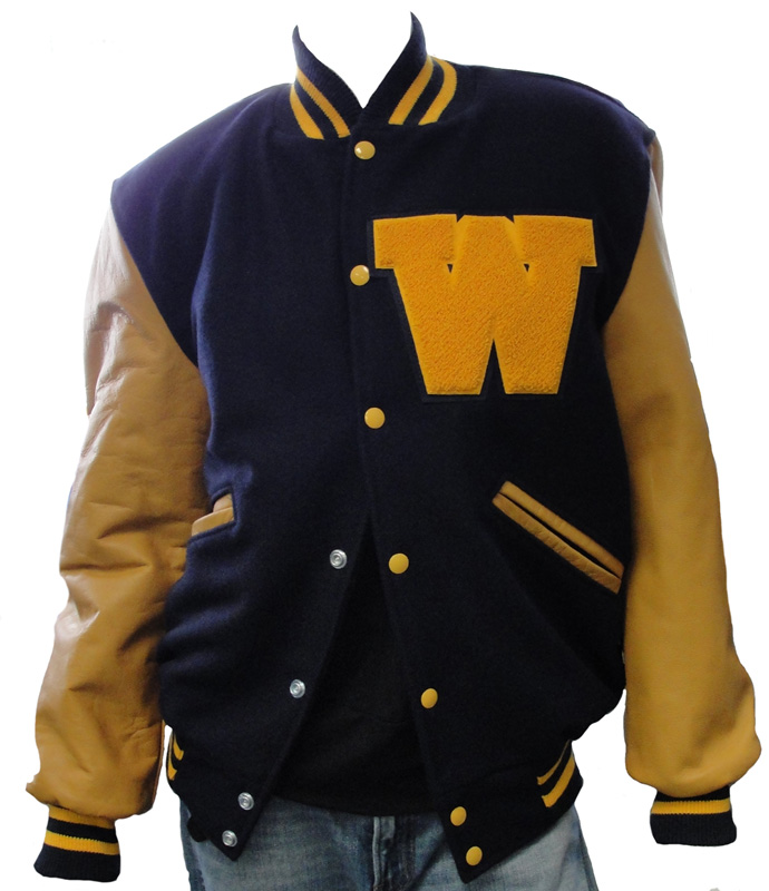 High school leather jackets