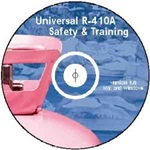 UNIVERSAL R-410A SAFETY &amp; TRAINING INTERACTIVE CD
