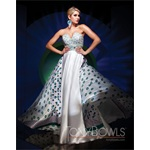 TONY BOWLS 2011 EVENING COLLECTION DRESS TBE11157