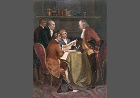 were the colonist justified in declaring independence from great britain According to the declaration of independence, why were the colonists justified in ending their political connections with great britain - 4372671.
