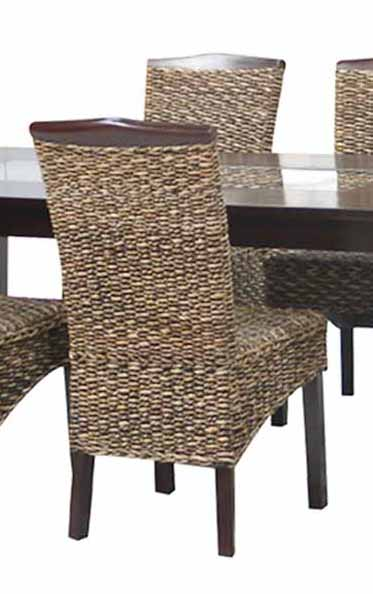 Banana leaf dining chair pads cushions
