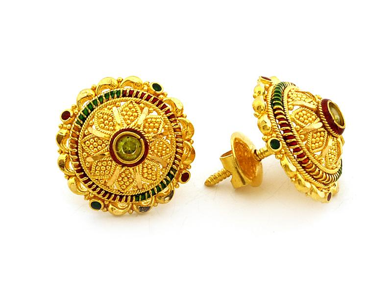 Gold Indian 22 Karat Gold Jewellery Designs