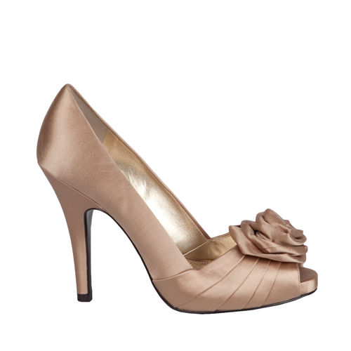 NINA WOMEN ROSETTE PUMPS SHOES ELIJAH-CH | MonsterMarketplace.com