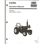 Ford 5610, 6610, 7610, series 2 tractor operators