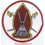US NAVY USS CAYUGA LST-1186 SHIPS PATCH