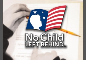 What are some arguments against the No Child Left Behind Act?