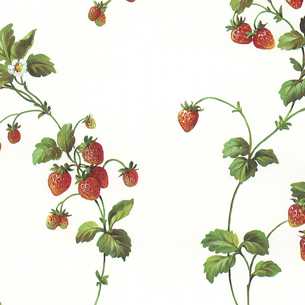 strawberry wallpaper. 4 STRAWBERRIES WALLPAPER
