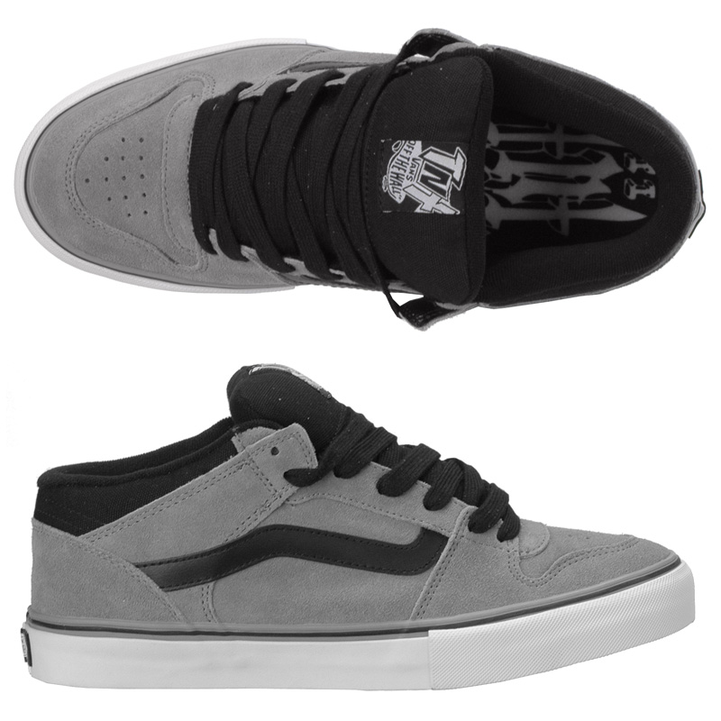 Vans TNT II Mid Mid Grey/Black (Tony Trujillo) - SALE!