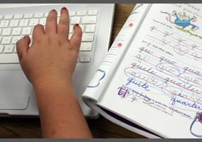 Why is typing more important than handwriting?
