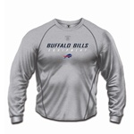 Buffalo Bills Youth T-Shirt - Equipment Logo Speedwick - Grey