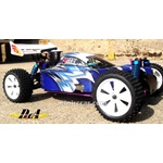 Bungee Nitro Gas Buggy 2 Speed Large VX-18 Pro Engine + RC + Nitro Start Pack + Free FedEx Ground Shipping. BLUE