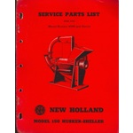 New Holland 150 Corn Husker Sheller parts