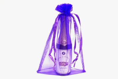 Organza Wedding Favor Bags on 6x9 Purple Organza Bags 10 Pk   Party Decorations   Wedding Favors