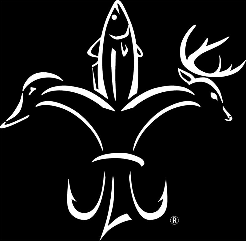 The Sportsman Fleur-de-Lis is the trademarked logo of Sportsman magazine.