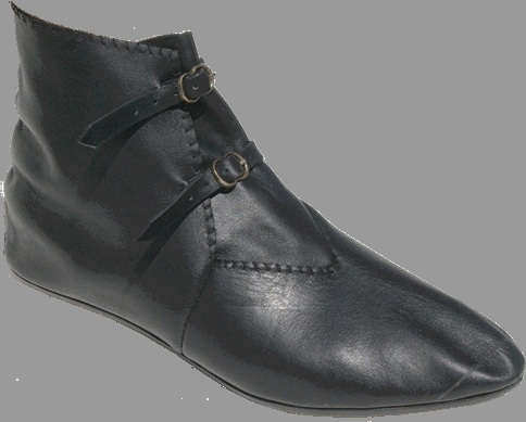 Late Medieval buckle shoes