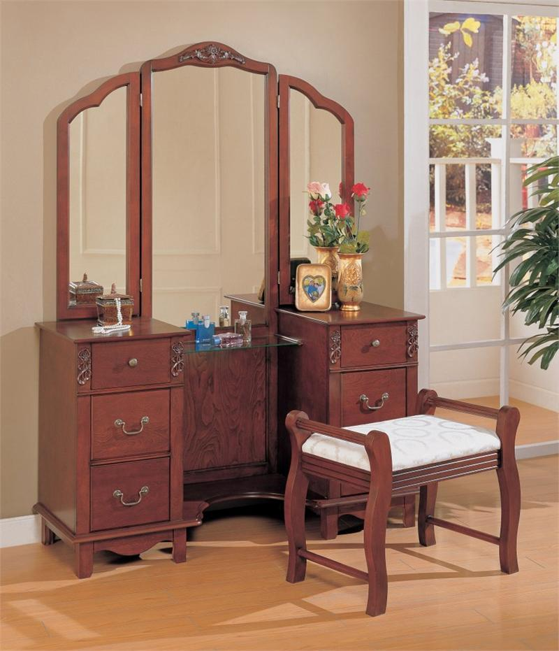 bedroom vanities on Bedroom Vanity Set With Large Mirror   Monstermarketplace Com