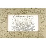 Christmas in Heaven Framed Print