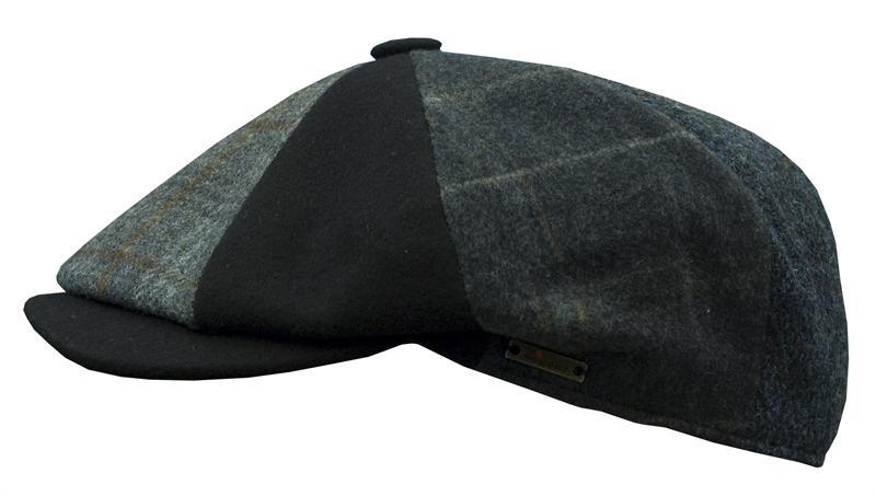 linen ivy cap. Patchwork Ivy Cap - Navy