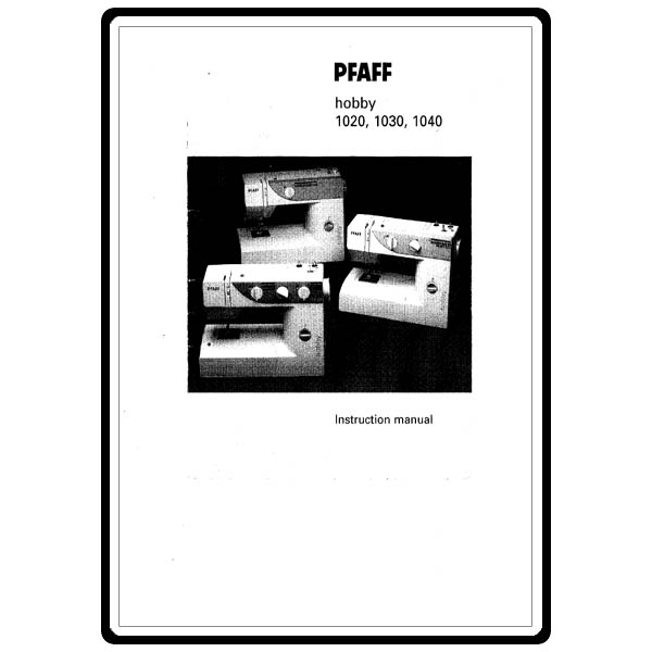 pfaff 1020 sewing machine