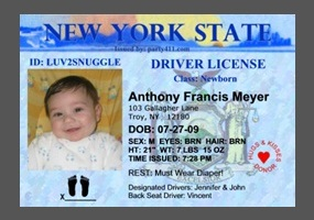 License for parenting