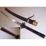 Full Tang Black Katana Sword - Made in Taiwan