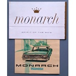 Two 1960's Monarch (Ford of Canada) sales brochures
