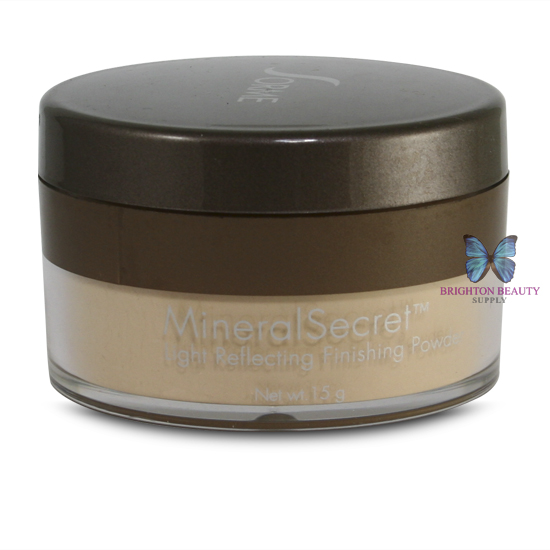Sorme Mineral Secret Loose Finishing Powder One sheer dusting of this invisible loose