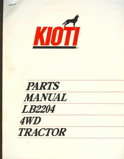 Kioti Tractors Parts Catalog : Lb kioti compact tractor