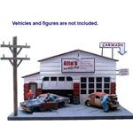 Auto Body Shop Diorama 1-24 American Dioramas